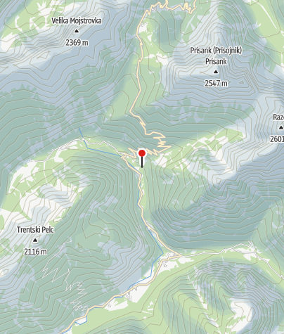 Map / The Mlinarica gorge
