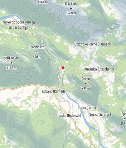 Map / Restaurant Camp Lazar