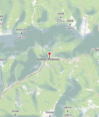 Map / TIC Podbrdo