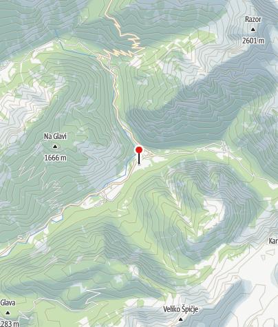 Karte / Dom Trenta (Museum und das Informationszentrum des Nationalpark Triglav)