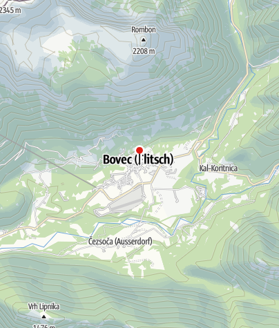 Map / Gostilna Sovdat