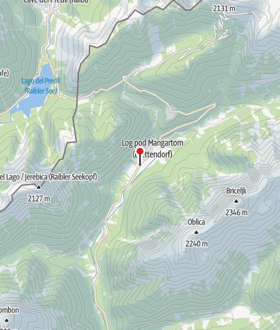 Zemljevid / Razvojna zadruga Mangart