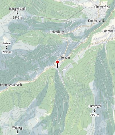 Kaart / Sellrain