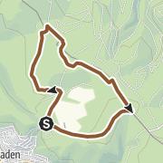 Map / Bergmannspfad (C): reizvolle Tour mit rund 100 Metern Höhenunterschied
