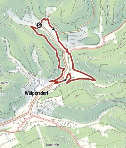 Map / Köhlerpfad