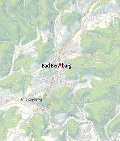 Map / of the city of Bad Berleburg
