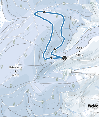 "Map / ""Oberndorfer Dell-Runde"" short trail"