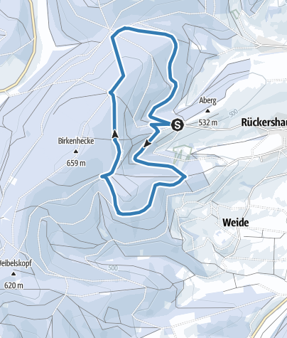 "Map / Larger trail ""Karrenplatz-Runde"""