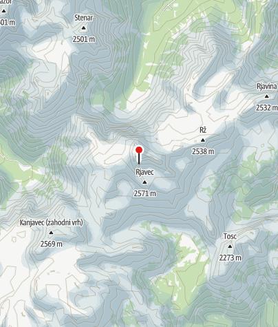 Map / Triglav - Julian Alps