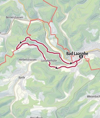"""Map / L10 - Ortswanderweg Bad  - """"Um den Großgemeindestein"""""""