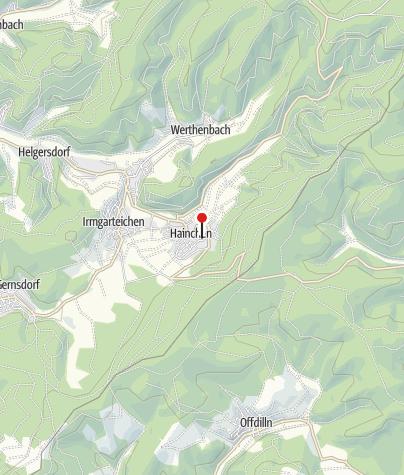 Karte / Wasserburg Hainchen