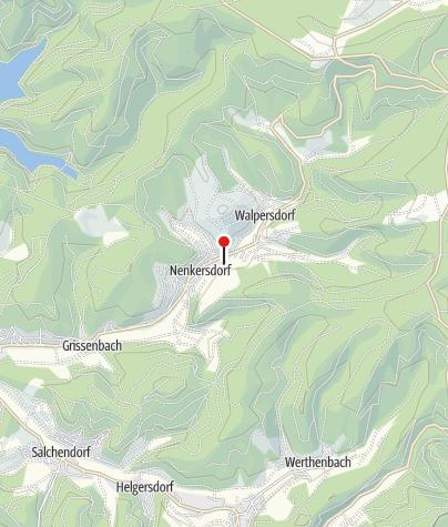 Karte / Wassermühle Nenkersdorf