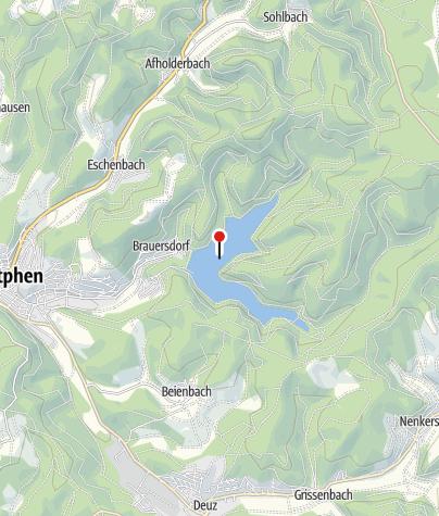Karte / Obernautalsperre
