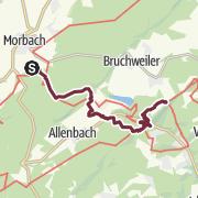 Map / Saar-Hunsrück-Steig - Stage 11: Morbach – Langweiler – Kempfeld