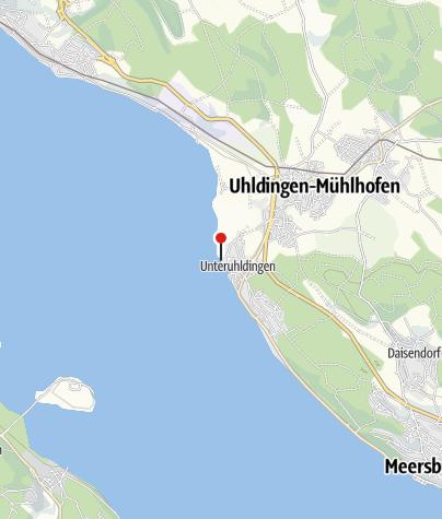 Karte / Naturstrand Uhldingen-Mühlhofen