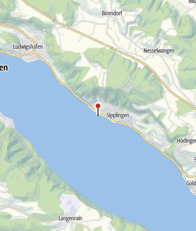 Karte / Naturbadestrand Sipplingen