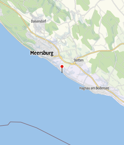 Karte / Strandabschnitt unterhalb von Stetten