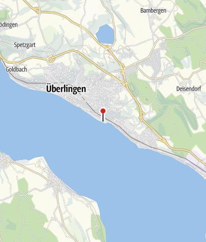 Karte / Strandbad Überlingen Ost