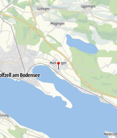 Karte / Bodensee-Kanu-Tours