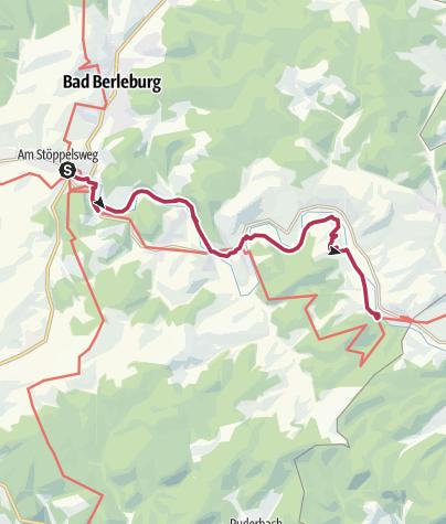 Map / Ederauenweg (Eder Meadows Trail)