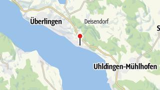 Karte / 2Rad-Sport-Wehrle, Überlingen-Nußdorf