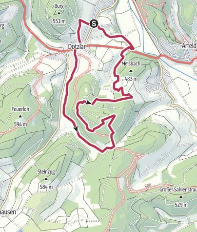 Map / Bei de Hullerkeppe - Kellerrunde