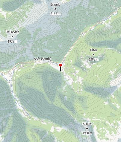 Map / Počitniška hiša Soča
