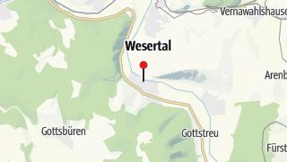 Karte / Tourist-Information Gieselwerder