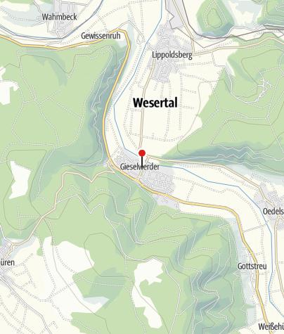 Karte / Kirche Gieselwerder