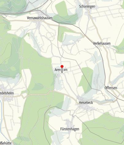 Karte / Heimatmuseum Arenborn