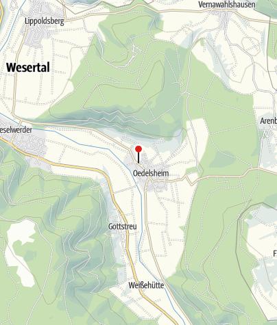 Karte / Parkplatz Oedelsheim