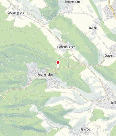 """Karte / Wanderparkplatz """"Von-Langen-Platz"""""""
