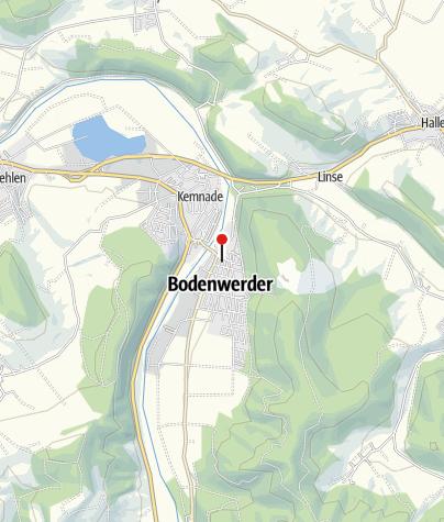 Karte / Kath. Kirche Bodenwerder