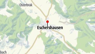 Karte / Touristinformation im Rathaus Eschershausen