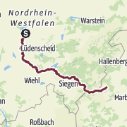 Map / Talsperrenweg