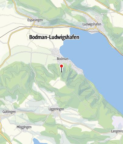 Karte / Burgruine Altbodman