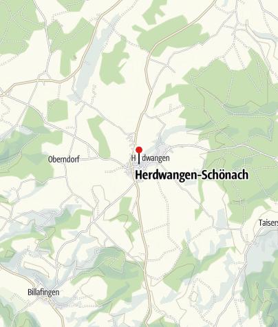 Karte / Haus Schwalbennest