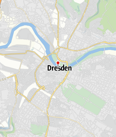 Karte / Die Katholische Hofkirche in Dresden