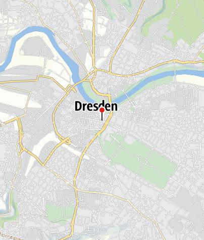 Karte / Landhaus - Stadtmuseum Dresden