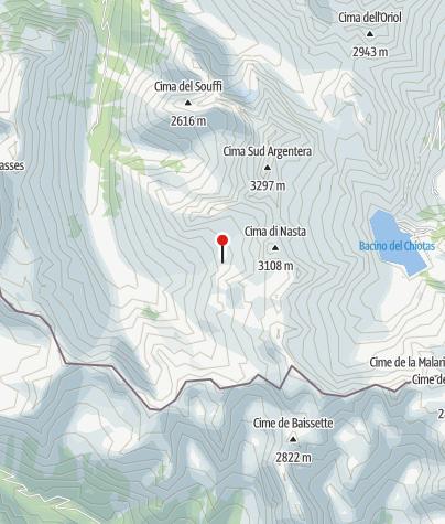 Kaart / Rifugio Franco Remondino