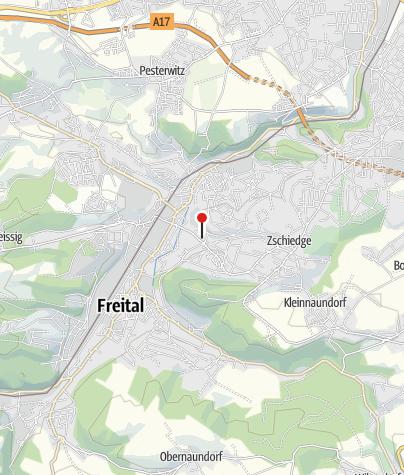 Karte / Oskarshausen - das Entdeckerland für die ganze Familie in Freital bei Dresden!