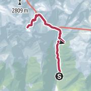 Map / Kompfoss See 2480m