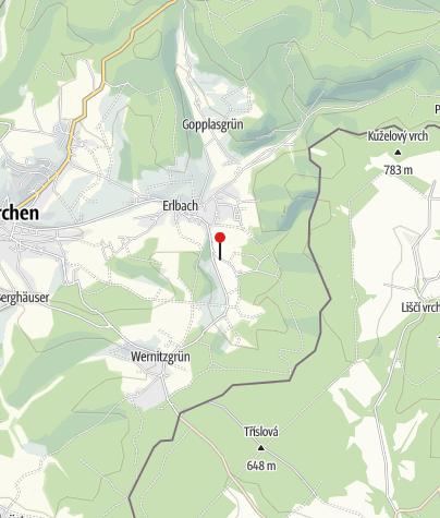 "Mapa / Gasthaus ""Grünes Tal"" Eubabrunn"