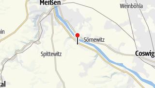 Karte / Totenhäuschen Batzdorf