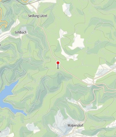 Karte / Wildgehege am Forsthaus Hohenroth