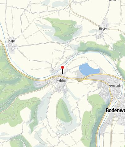 Karte / Schloss Hehlen
