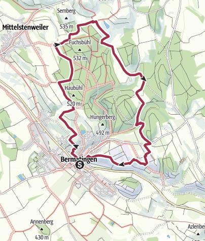 Karte / Bermatinger Waldwiesen