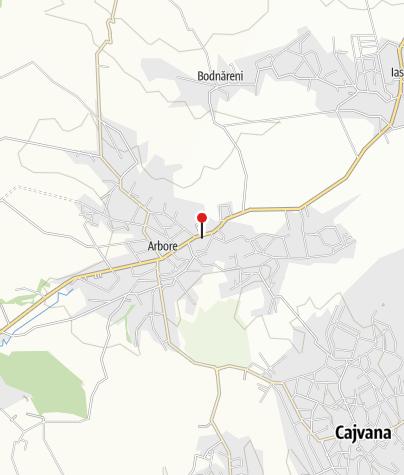 Map / Arbore Monastery