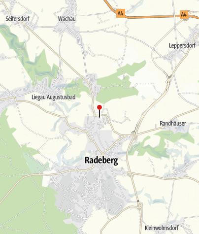 Karte / Hotel Sportwelt Radeberg