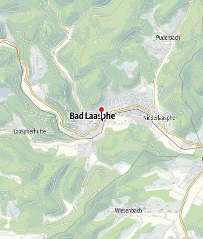 Map /  Residenztheater Bad Laasphe